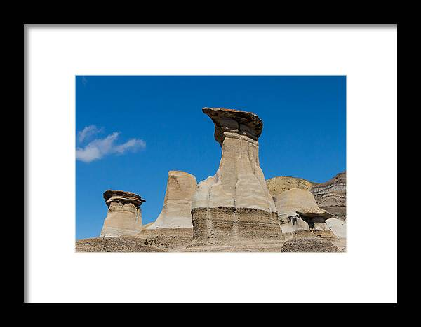 Hoodoo Framed Print featuring the photograph Hoodoo by Brigitte Mueller