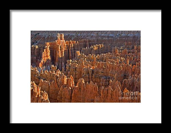 Hoodoos Framed Print featuring the photograph Hoodoos At Black Birch Canyon by Neil Doren