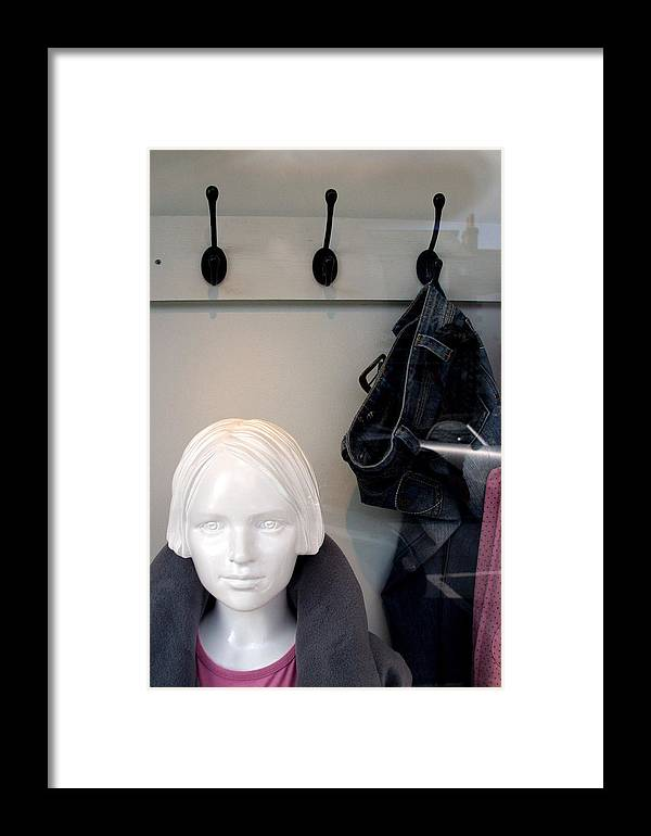Jez C Self Framed Print featuring the photograph Hooked Up by Jez C Self