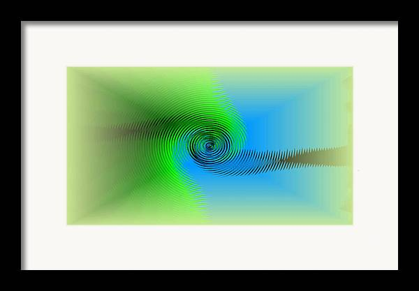 Digital Art Framed Print featuring the digital art Hope by Andreas R Wesener