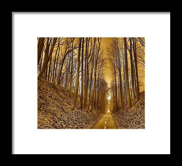 Landscape Framed Print featuring the photograph Horizon by Mitch Cat