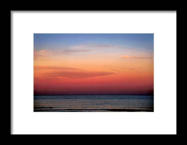 Landscape Framed Print featuring the photograph Horizontal Number 1 by Sandra Gottlieb