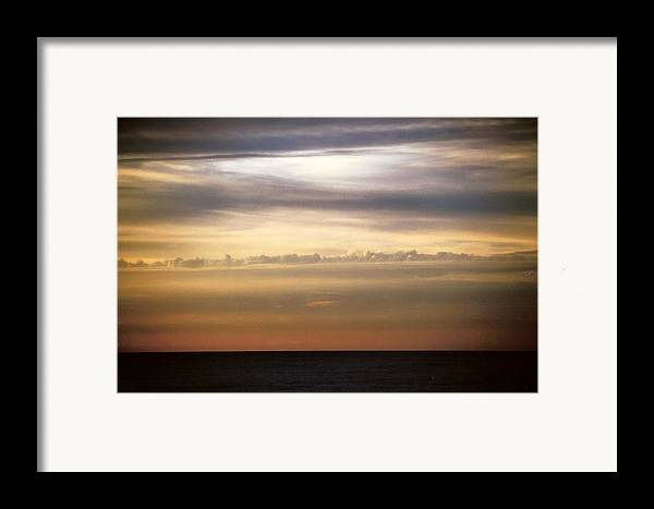 Landscape Framed Print featuring the photograph Horizontal Number 11 by Sandra Gottlieb
