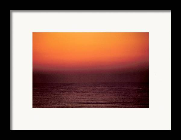 Landscape Framed Print featuring the photograph Horizontal Number 14 by Sandra Gottlieb