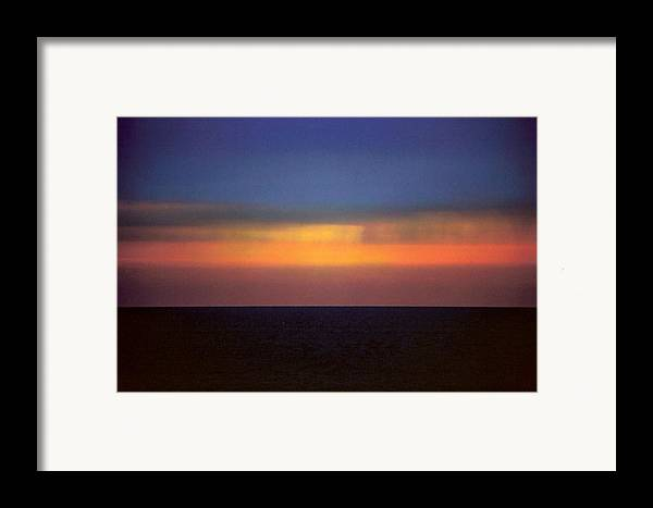 Landscape Framed Print featuring the photograph Horizontal Number 17 by Sandra Gottlieb