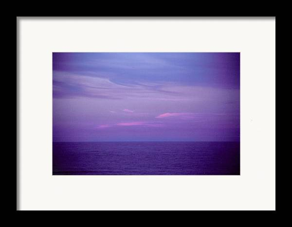 Landscape Framed Print featuring the photograph Horizontal Number 6 by Sandra Gottlieb