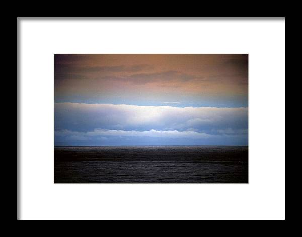 Landscape Framed Print featuring the photograph Horizontal Number 7 by Sandra Gottlieb