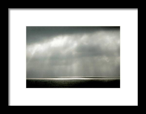 Landscape Framed Print featuring the photograph Horizontal Number 9 by Sandra Gottlieb