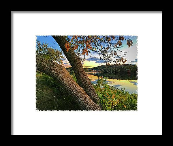 Framed Print featuring the photograph Horn Pond by Cathy Peterson