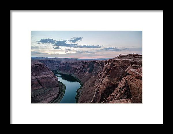 Arizona Framed Print featuring the photograph Horseshoe Bend No. 2 by Margaret Pitcher