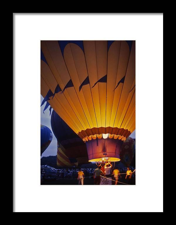 Hot Air Balloon Framed Print featuring the photograph Hot Air Balloon - 10 by Randy Muir