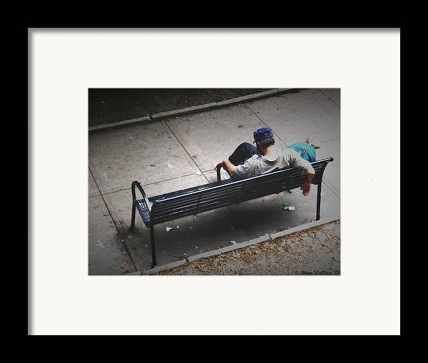 2d Framed Print featuring the photograph Hot And Homeless by Brian Wallace