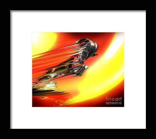 Dodge Framed Print featuring the photograph Hot Ram by Patricia L Davidson