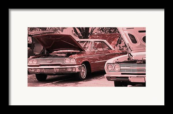 Car Framed Print featuring the photograph Hot Rod by Lisa Johnston