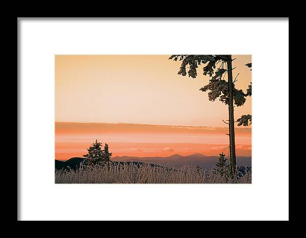 Landscape Framed Print featuring the photograph Hot Snow by Itai Minovitz
