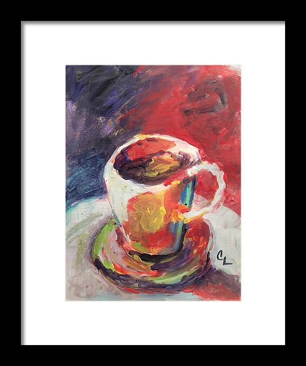 Hot Framed Print featuring the painting Hot Stuff by Carol Loethen