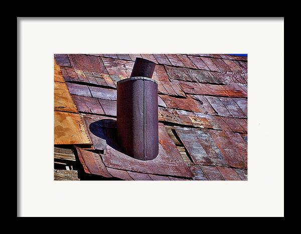Tin Roof Framed Print featuring the photograph Hot Tin Roof by Kelley King