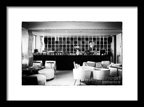 The Joint Framed Print featuring the photograph Hotel Bar by John Rizzuto