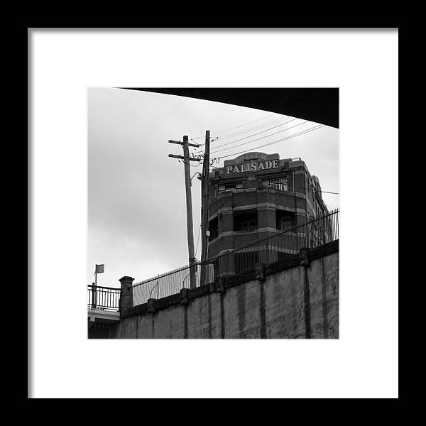 Admarshall Framed Print featuring the photograph Hotel Palisade by AD Marshall