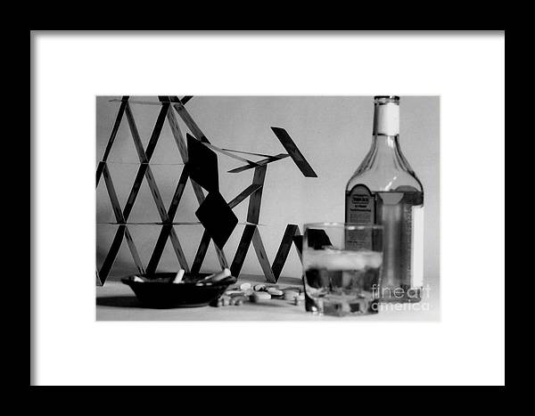 Framed Print featuring the photograph House Of Cards by Jason Williams