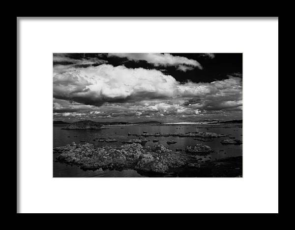 Clouds Framed Print featuring the photograph Hovering by Jessica Roth