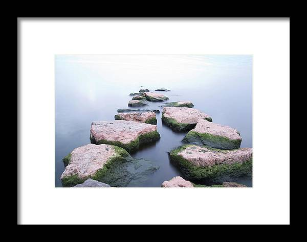 Stones Framed Print featuring the photograph How Far Would You Go - Photographers Collection by Andre Distel