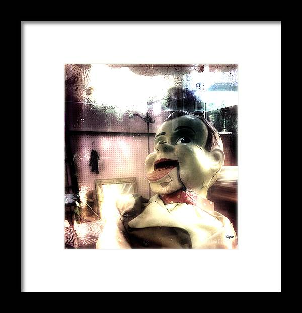 Howdy Doody Framed Print featuring the photograph Howdy Doody by Steven Digman