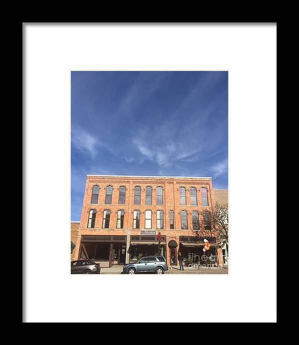 Howell Framed Print featuring the photograph Howell Opera House by Joseph Yarbrough