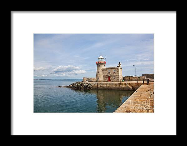 Howth Lighthouse Framed Print featuring the photograph Howth Lighthouse by Gabriela Insuratelu
