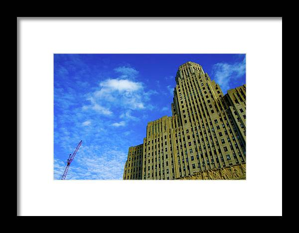 City Framed Print featuring the photograph Hulk by Marcus L Wise