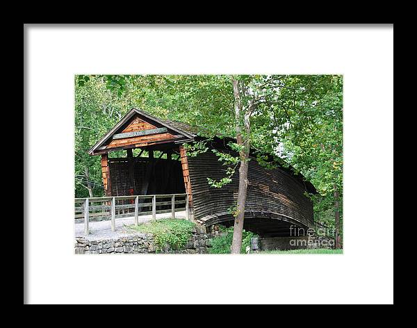 Rock Framed Print featuring the photograph Humpback Bridge by Eric Liller