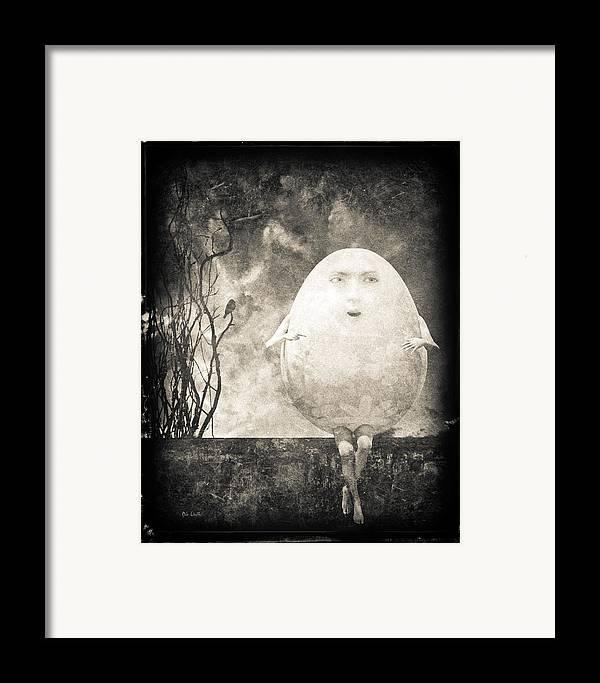 Humpty Dumpty Framed Print featuring the photograph Humpty Dumpty by Bob Orsillo