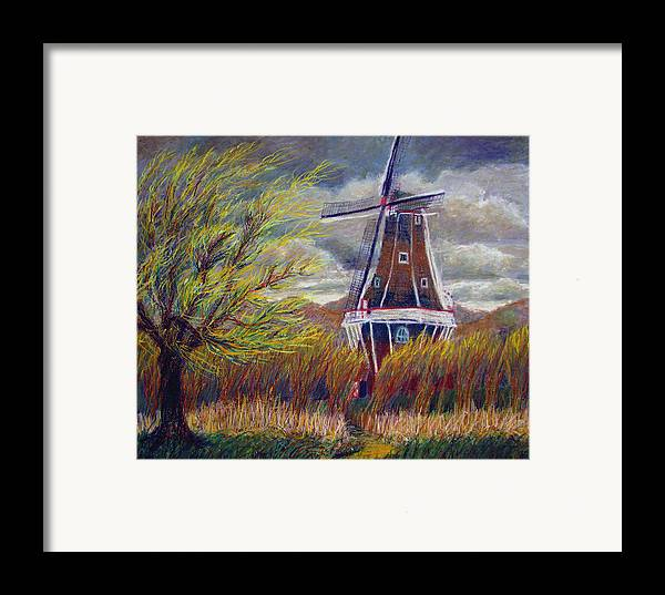 Art Nomad Framed Print featuring the painting Hurry Up by Art Nomad Sandra Hansen