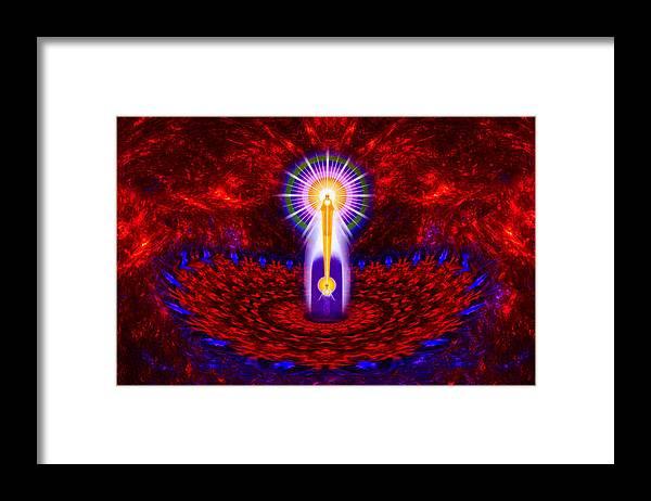 Mandalas Framed Print featuring the photograph I Am Creation by Richard Copeland