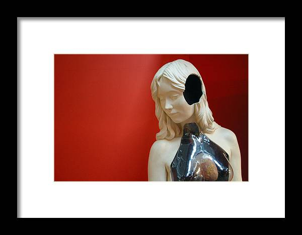 Jez C Self Framed Print featuring the photograph I Cant Hear You 2 by Jez C Self