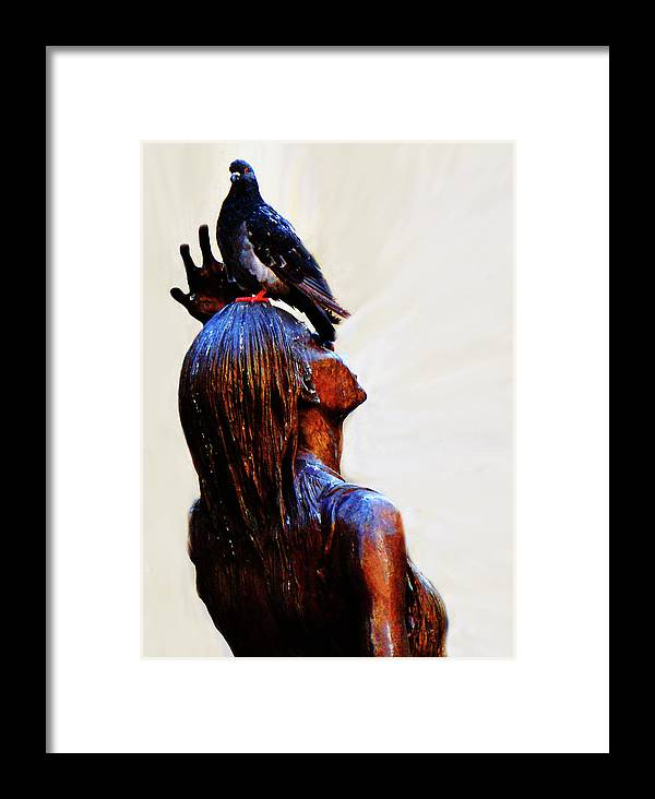 Al Bourassa Framed Print featuring the photograph I Get No Respect by Al Bourassa