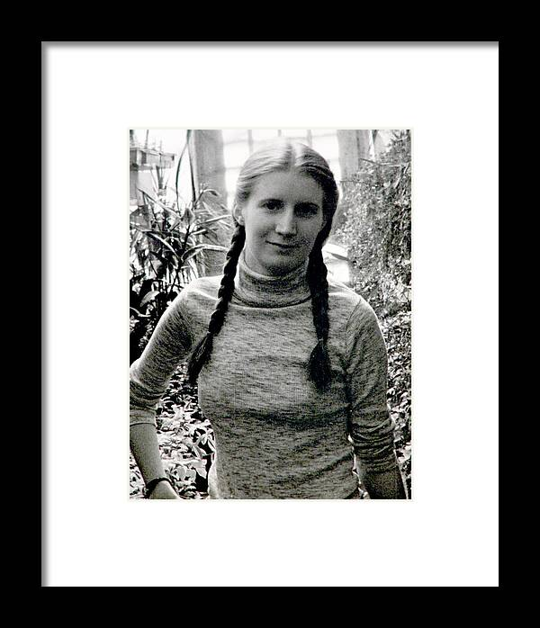 Braids Framed Print featuring the photograph I Love German Women by John Toxey