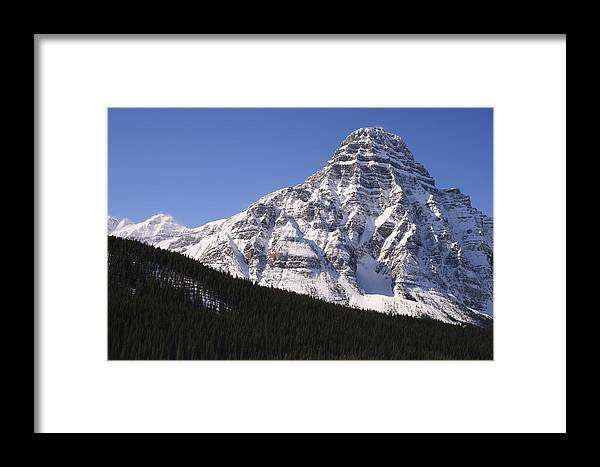 Rocky Mountains Framed Print featuring the photograph I Love The Mountains Of Banff National Park by Tiffany Vest