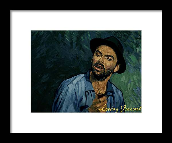 Framed Print featuring the painting I Never Got to Speak a Word With Her by Tetiana Ocheredko