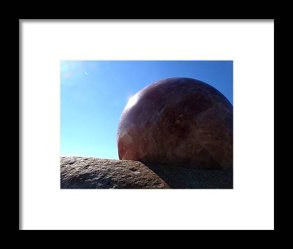 Moonstone Framed Print featuring the photograph I See You by Edan Chapman
