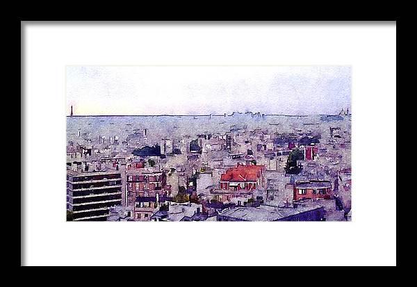 Susan Maxwell Schmidt Framed Print featuring the photograph I Still Have Paris by Susan Maxwell Schmidt