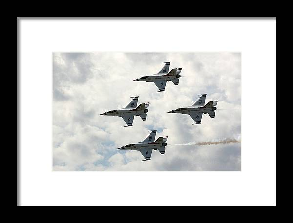 Airplane Framed Print featuring the photograph I Think I Am Out Of Gas by David Dunham