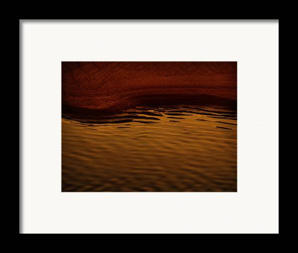 Abstract Framed Print featuring the photograph I Want To Wake Up Where You Are by Dana DiPasquale
