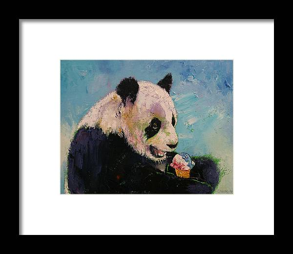 Art Framed Print featuring the painting Ice Cream by Michael Creese