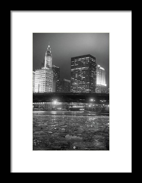 Framed Print featuring the photograph Ice Ice Baby by Sue Conwell