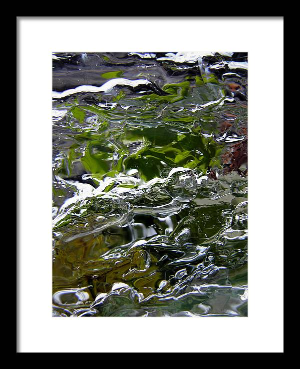 Mirror Framed Print featuring the photograph Ice Mirror 2 by Sami Tiainen