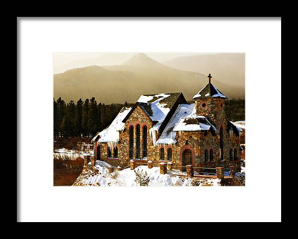 Americana Framed Print featuring the photograph Icicles by Marilyn Hunt
