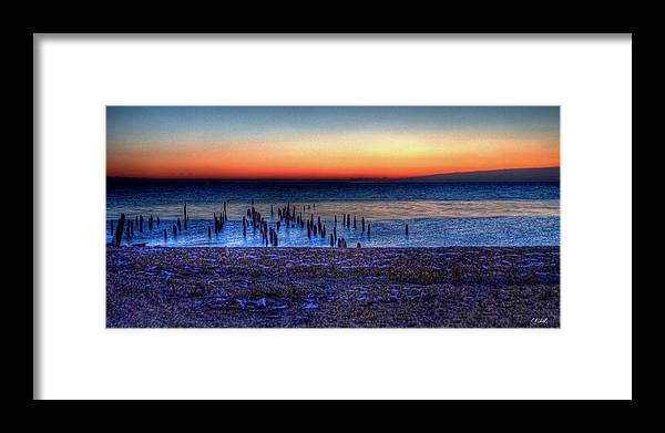 Hdr Framed Print featuring the photograph Icy Dawn by E R Smith