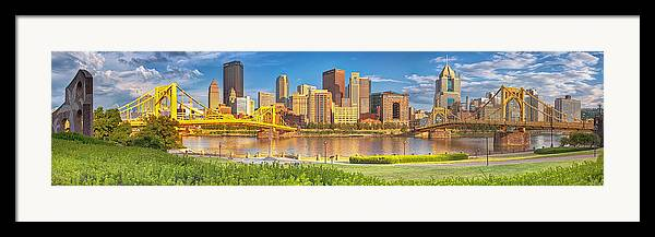Pittsburgh Framed Print featuring the photograph Idyllic Afternoon by Jennifer Grover