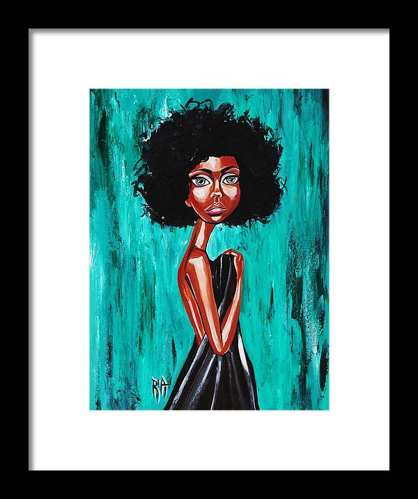 Afro Framed Print featuring the photograph If From Past Sins Ive Been Washed Clean-why Do I Feel So Dirty by Artist RiA